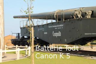 Batterie Todt - Canon K5